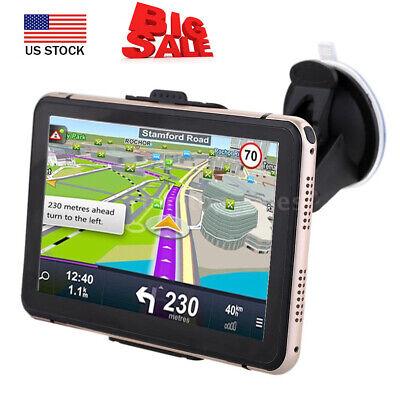 7'' Portable Car GPS Navigation Auto Navigator Nav 4GB 128MB RAM + Free Map M4I6