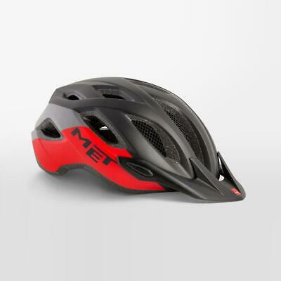 Met Cruzado Bicicleta Casco de Seguridad Integrado LED Talla M 52-59cm -...