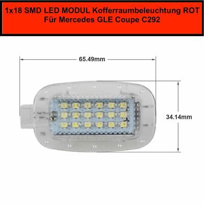1x LED SMD MODUL Kofferraumbeleuchtung  Mercedes GLE Coupe C292 Rot (7201)