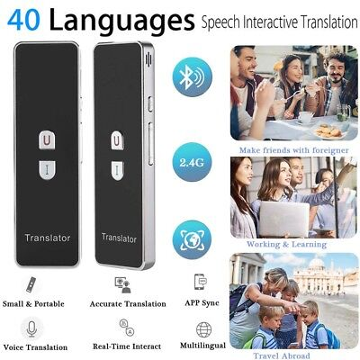 T8+ Instant Voice Translator 40+ Languages Travel Speech Interactive Translation