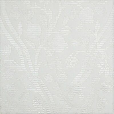 Fabric Robert Allen Beacon Hill Amerikey Snow Silk Matelasse Floral Drapery II41 Robert Allen Drapery Fabric