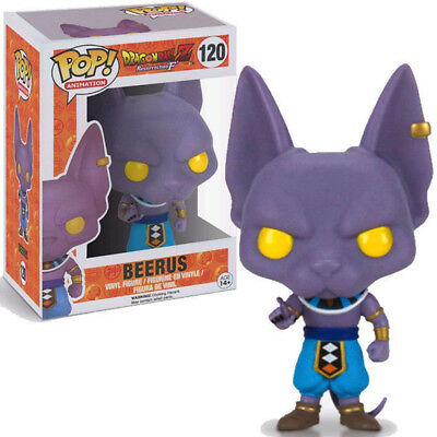 Dragon Ball Z #120 Beerus Pop 1 PC Anime Figure Gift Toy US