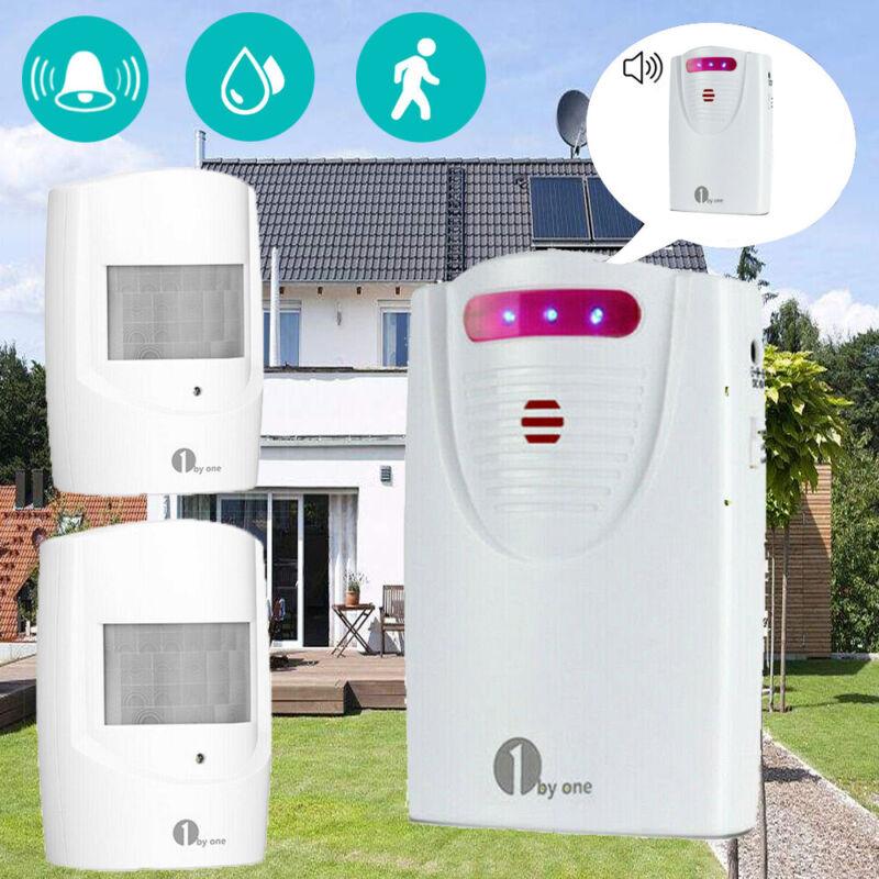 Wireless Motion Sensor Alarm Home Security Doorbell Driveway Alarm Alert System