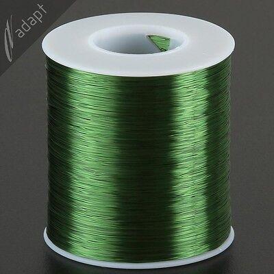 Magnet Wire Enameled Copper Green 32 Awg Gauge 155c 1 Lb 4900ft Hpn