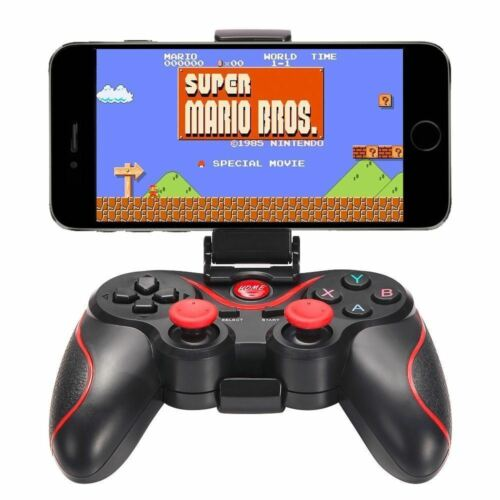 Wireless Bluetooth Gamepad Game Controller For Android Phone TV Box Tablet PC US Controllers & Attachments