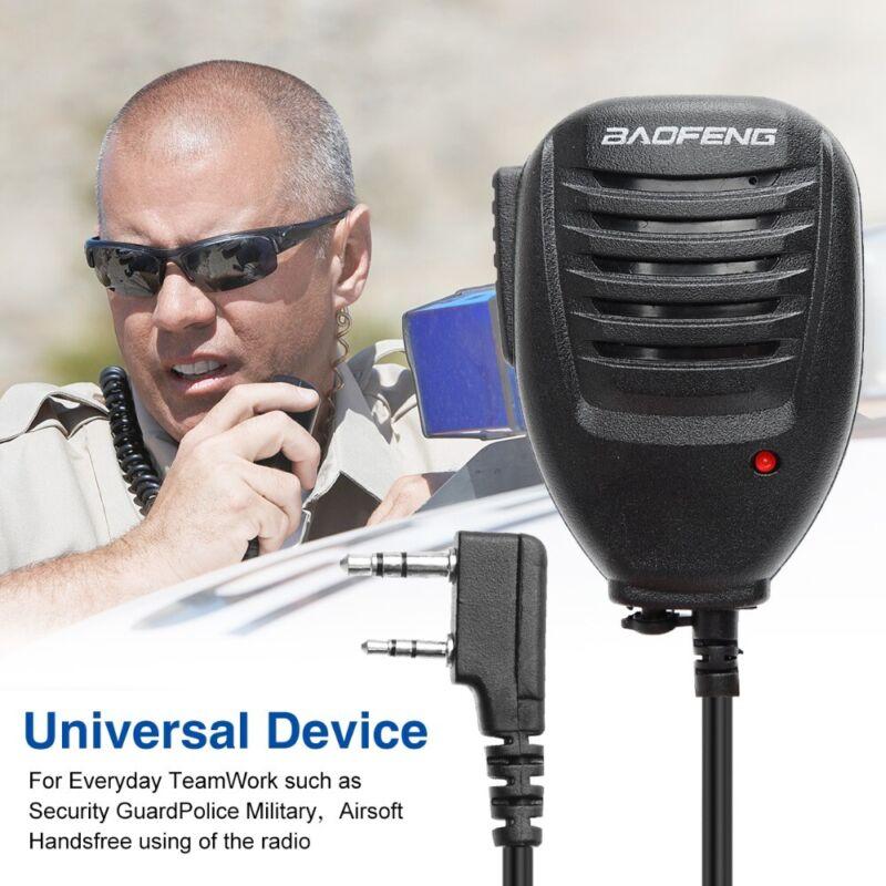 Hand Speaker Microphone PTT For Baofeng UV-82L UV-5R Two Way Radio Walkie Talkie