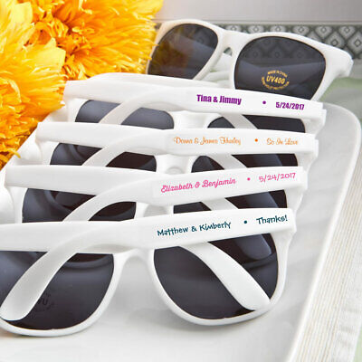 36 Personalized Sunglasses Wedding Bridal Baby Shower Birthday Party Favors