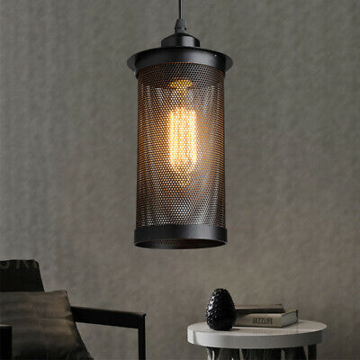 Industrial Iron Hanging Ceiling Lights Loft Pendant Fixtures Lamp Cafe Bar Home ()