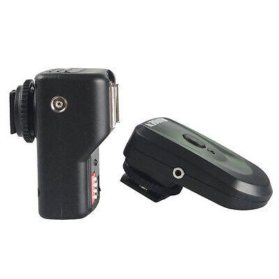 NEW Wireless 16 Channels FM Radio Remote Speedlite Flash Trigger for Canon Nikon