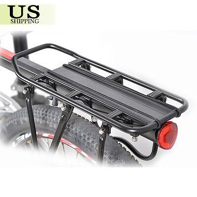 Cycling Bicycle MTB Bike Rear Rack Luggage Carrier Shelf Bracket Seat Post Mount
