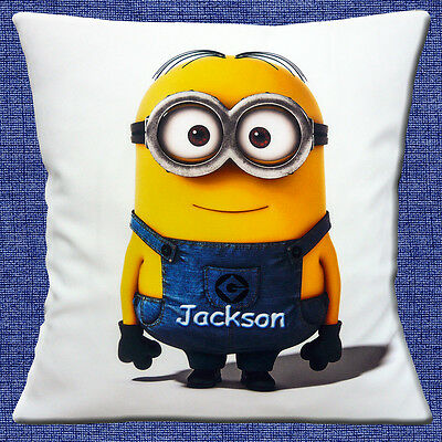 PERSONALISED Minions Character 2 ADD CHOICE NAME White 16