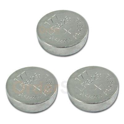 3 PACK Battery Button Watch 1.5V 376 377 SR626 SR626W SR626SW Authorized Seller