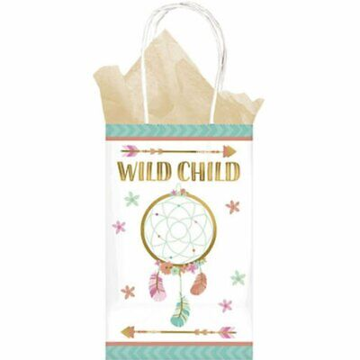 BOHO BIRTHDAY GIFT TREAT BAGS Decorations Wild Child Party Favors Present Flower](Boho Birthday Party)