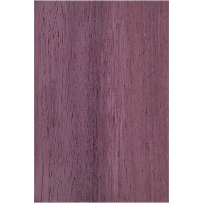 Exotic Purpleheart Wood Veneer Rawunbacked - 3 Sq. Ft 5.5 - 7.5 X 12