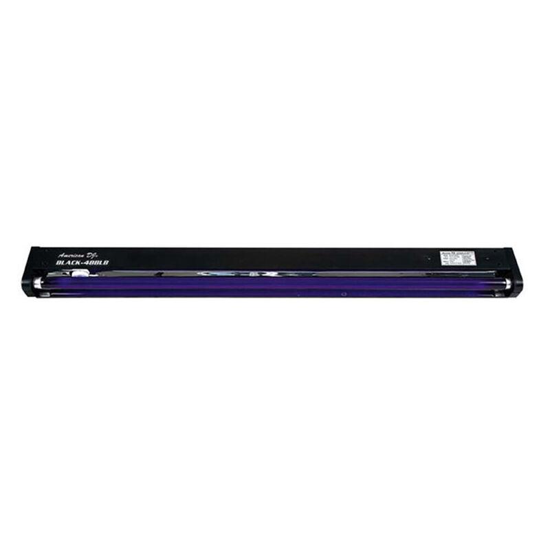 ADJ 48 Inch UV Black Pro Black Light Party Light Fixture | BLACK-48BLB