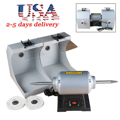 Dental Lab Lathe Polisher Polishing Malchine Buffing Grinder Burnishing 3000rpm