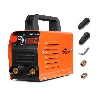 250a 110v Mini Electric Welding Machine Portable Current Digital Display Tool