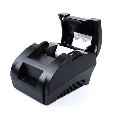Usb 58mm Posesc Thermal Dot Receipt Printer Electronic Cash Drawer Roll Paper