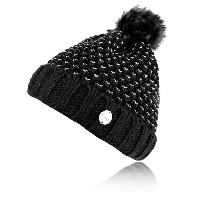 Black Sports Outdoors Warm Breathable Regatta Womens Lovella II Hat Cap