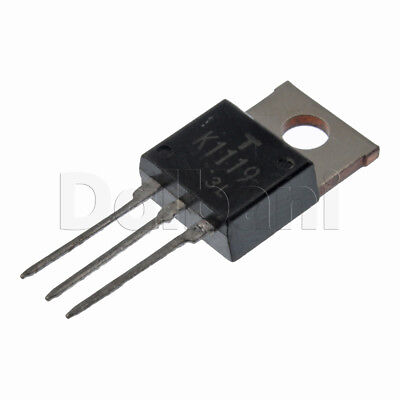 2sk1119 Original Toshiba Power Fet 4a 1000v 3.8ohm Npn To-220ab