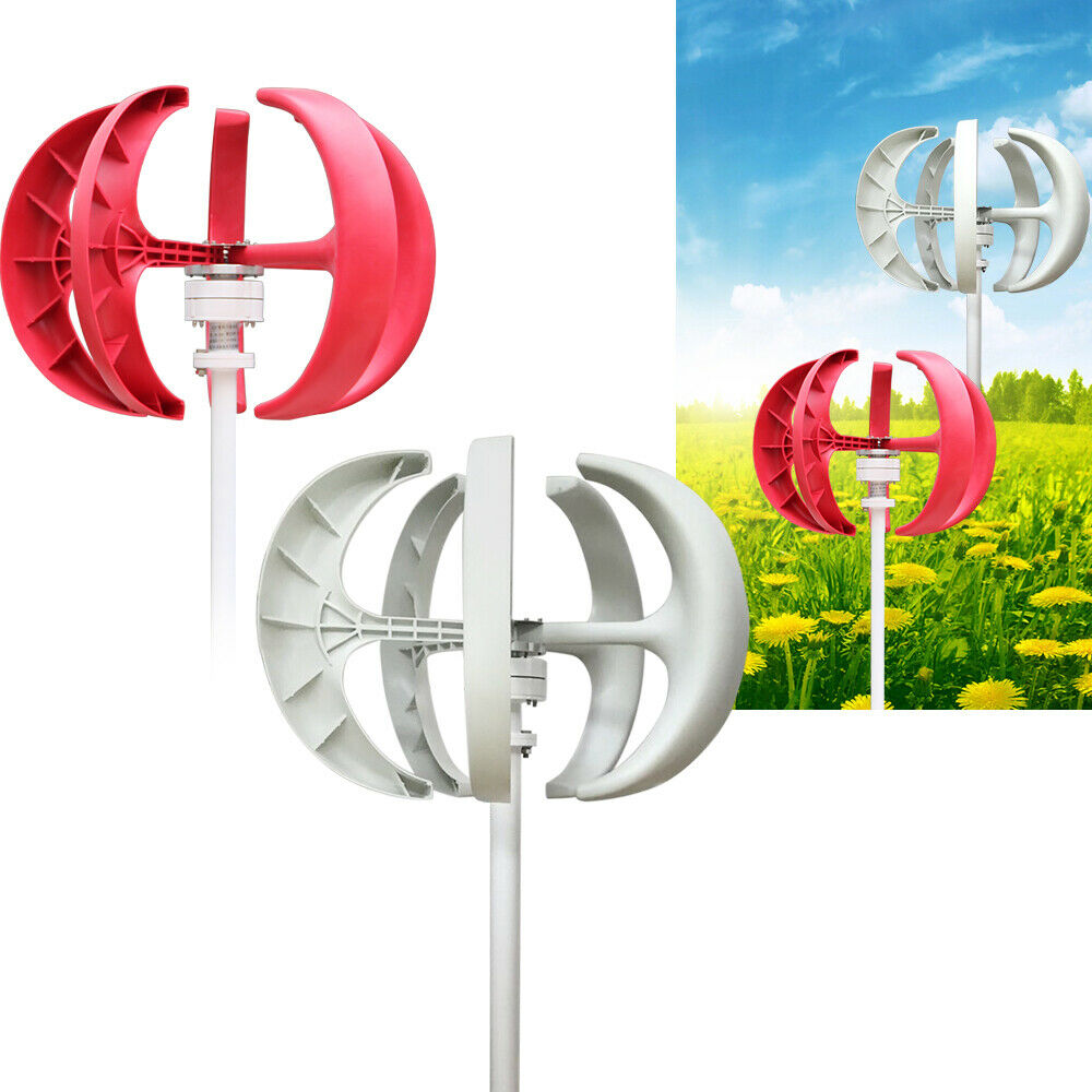 Petit moteur daxe vertical de turbines de vent DIY Petit G/én/érateur de vent G/én/érateur d/électricit/é de brise
