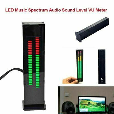 Led Music Spectrum Display Analyzer Stereo Audio Sound Level Indicator Vu Meter