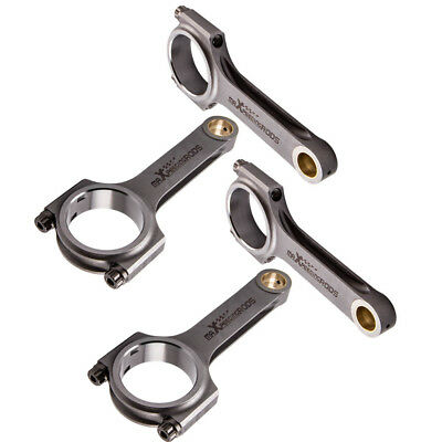 Used, Conrods for Rover K series 1.8 Forged 4340 EN24 Racing Connecting Rods ARP Bolts for sale  Leicester