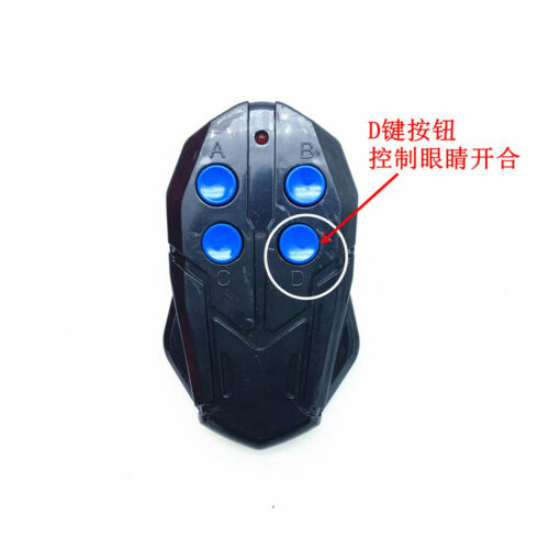 CATTOYZ 1:1 Spiderman Helmet Wearable Mask Prop Cosplay Remote Control Eyes