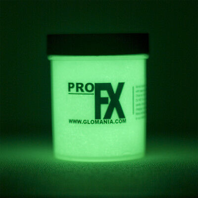 GREEN Glow in the dark paint 4 oz pot , luminescent, star ceiling , cosmic paint