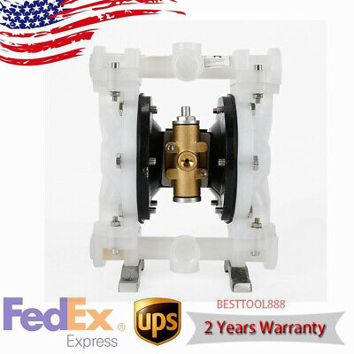 Qby-15pp Air-operated Double Diaphragm Membrane Pump For Waste Oil Industial