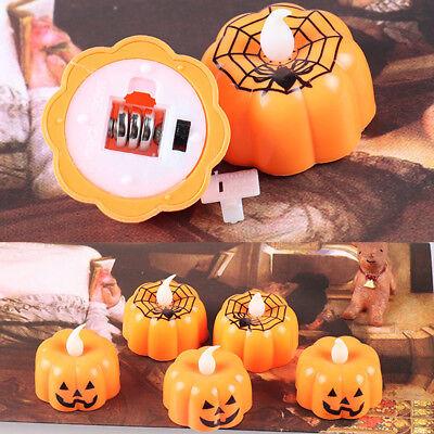 Halloween Light LED Pumpkin Spider Lamp For Kids Children Party Decoration - Halloween Pumpkins For Children
