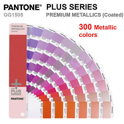 Pantone Plus Series Gg1505 Premium Metallics Coated 300 Colors