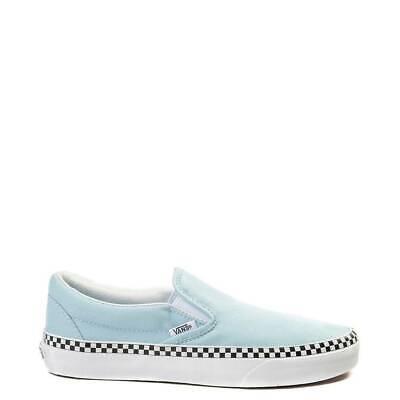 light blue checkered vans kids