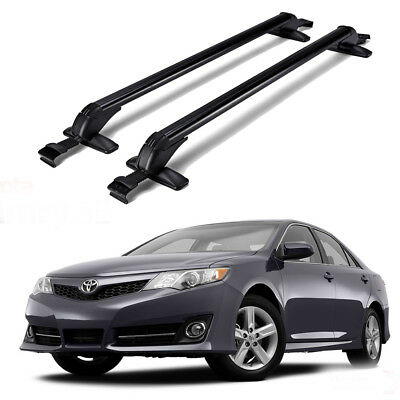For 1998-2016 Toyota Camry Car Roof Rack Cross Bars Luggage Bike Carrier w/ Lock