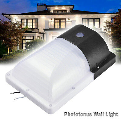 26W LED Light Wall Mount Photocell Security Outdoor Lighting Dusk To Dawn IP65
