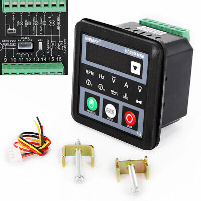 New Dc20d Mkii Genset Controller Module For Dieselgasoline Engine Generator