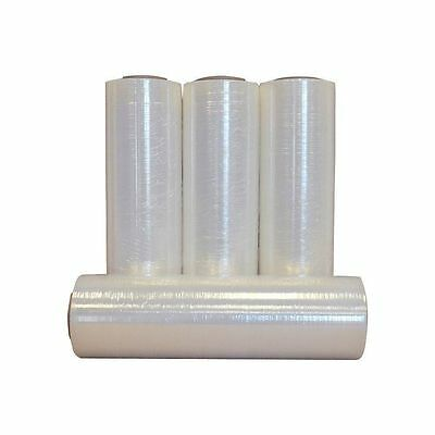 3 Rolls Hand Stretch Wrap Shrink Film Banding 18 X 1500 12 Micron Made In Usa