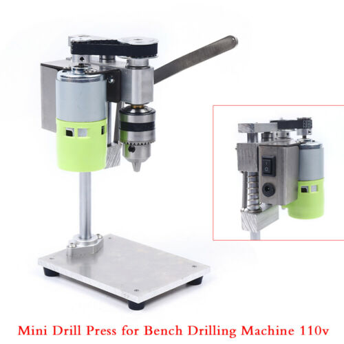 Bench Top Mini Drill Press 2 Speed for Wood or Metal Hobby T