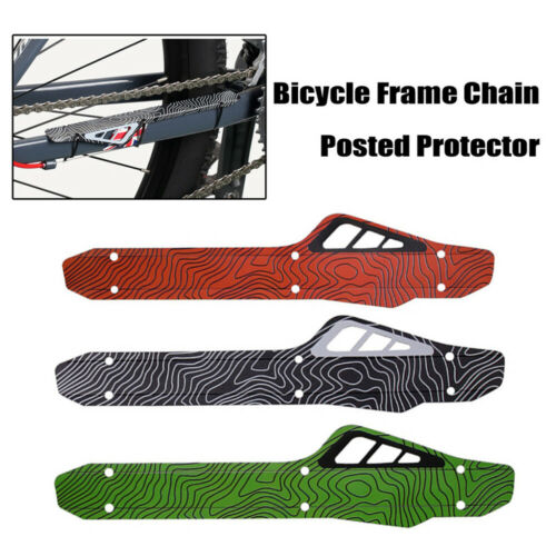 MTB Bike Bicycle Frame Chain Guard Chain Stay Rear Fork Pad Protector Cover SP