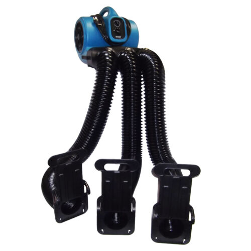 XPOWER X-800TF-MDK Pet Grooming Cage Dryer Multi Drying Hose Set w Timer, Filter