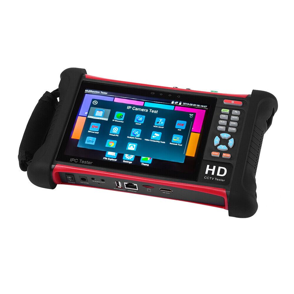 TOMLOV 1080P 1920x1200 RJ45 Sdi Analog Cvbs Kamera Tester Für Techniker System