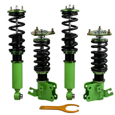 Coilovers Suspension Kits Fit Nissan 89-94 240SX S13 Hatchback/Coupe Adj. Height 1990 Nissan 240sx Hatchback