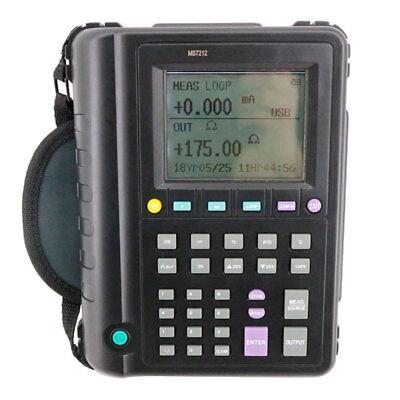 New Digital Thermometer Temperature Thermocouple Calibrator Ms7212