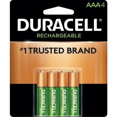 D3A4R Duracell Rechargeable AAA-4pk 900/mAh DX2400B4N