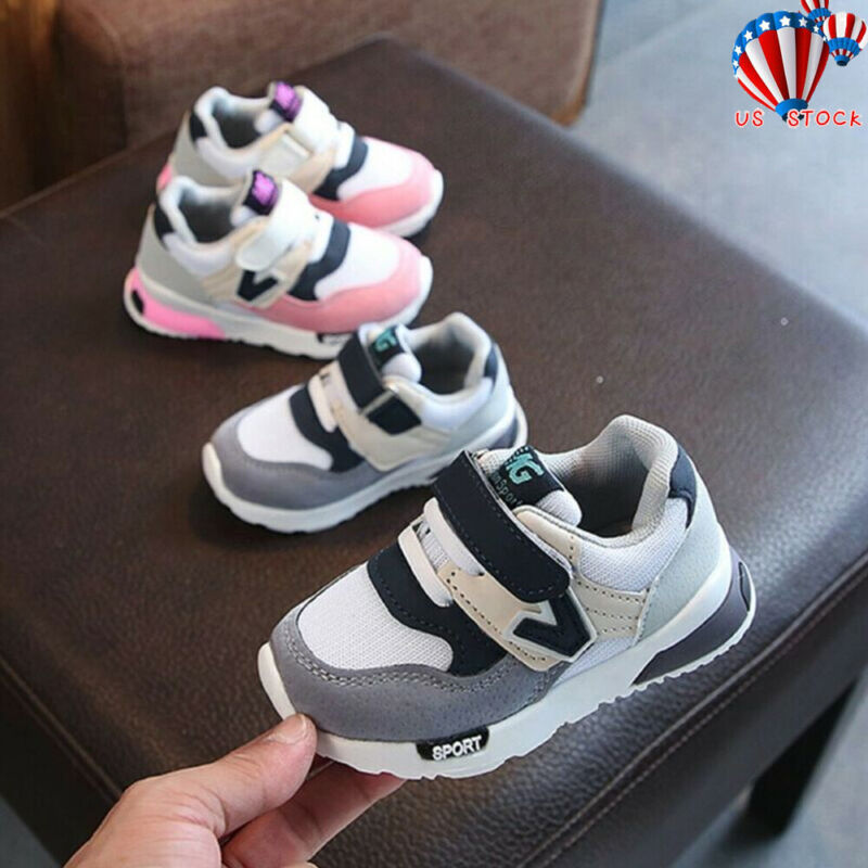 Toddler Baby Boys Girls Children Casual Sneakers Mesh Soft R