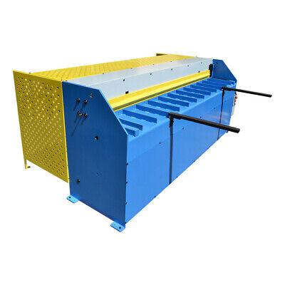 Hydraulic Shearing Machine 3hp 96 In X 16 Gauge Sheet Metal Cutter 1.6mm Thick