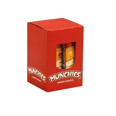 Doritios Munchies Nacho Cheese Sandwich Crackers 32-1.38 oz. Packets or 4 Boxes, used for sale  Indio