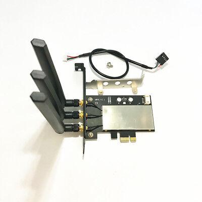 Broadcom Bcm943602cs 802 11Ac Wifi   Bluetooth 4 0 Pc Desktop Wlan Card Pci E 1X