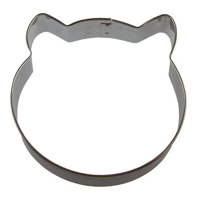 Round Cat Face 3.75'' Cookie Cutter (Round Faced Cats)