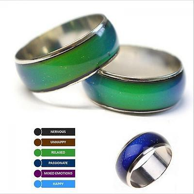 Unisex Gifts Color Change Band Emotion Feeling Temperature Control Mood Ring